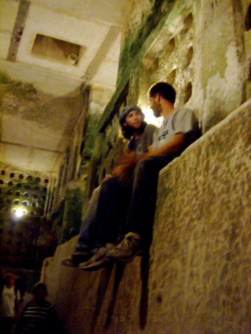 In the Columbarium